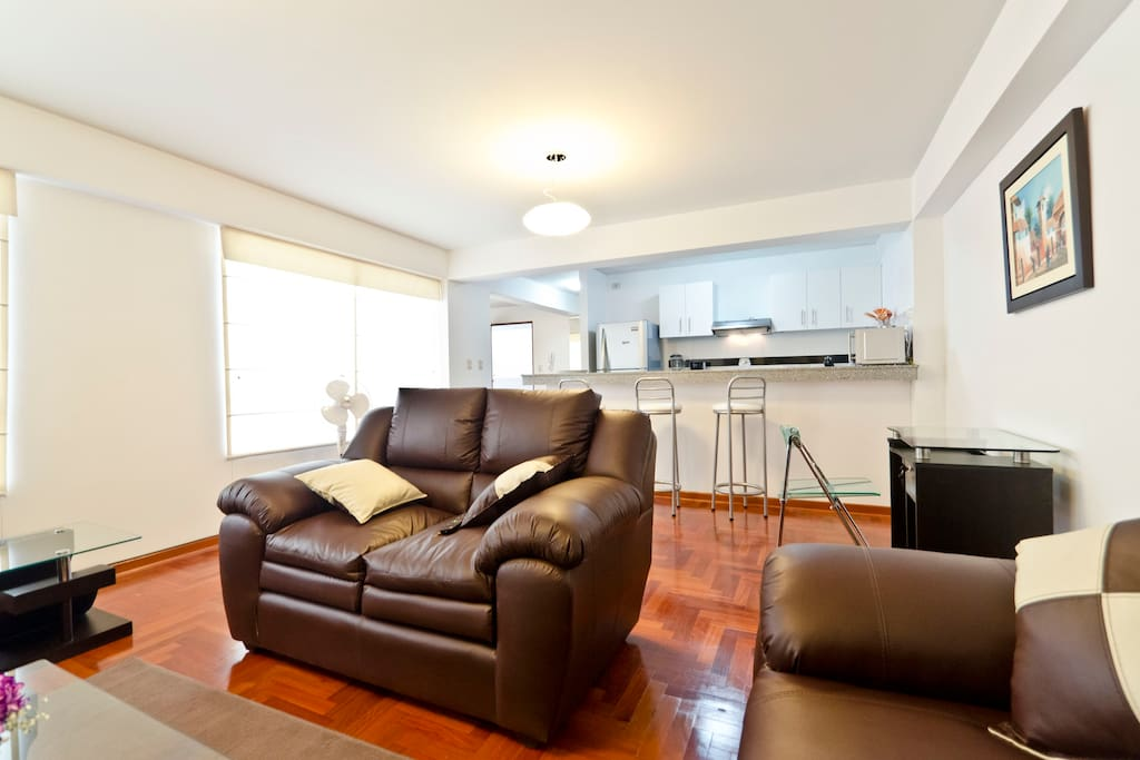 Nice flat in center Miraflores 403