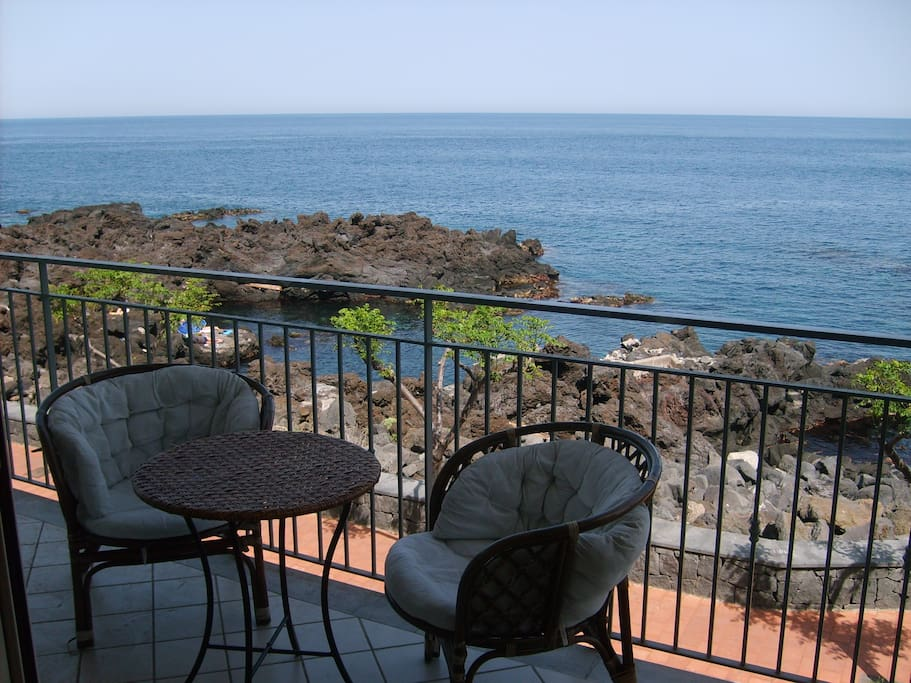 with terrace and lovely sea views