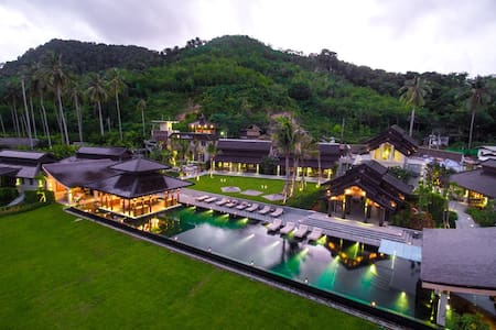 Thailand Island Beach Luxury Estate - Villa