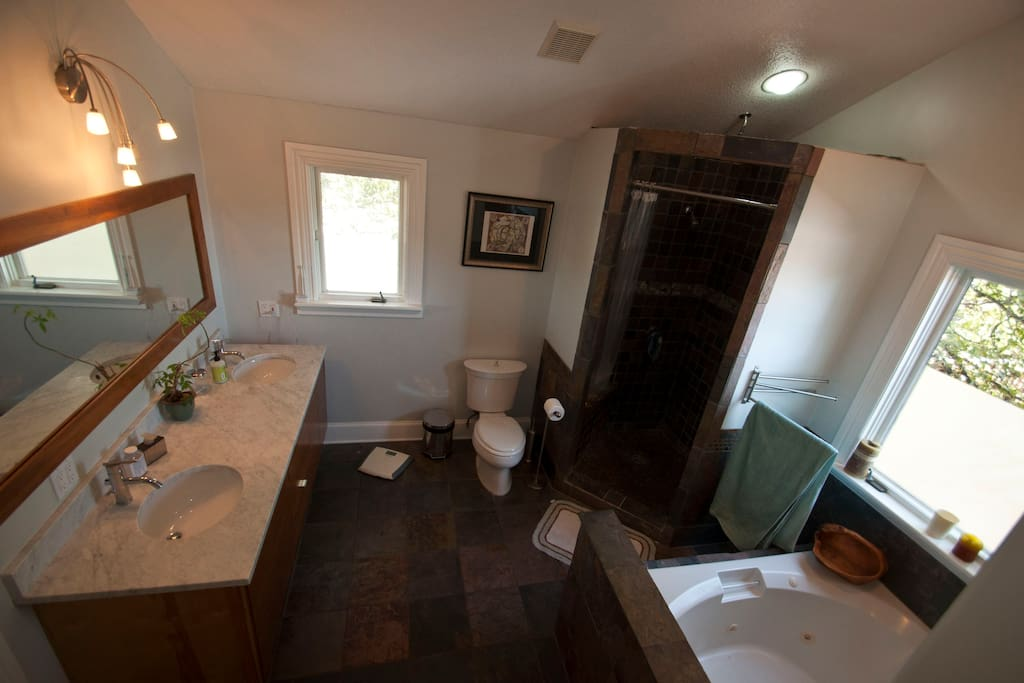 Maaster Bathroom in suite
