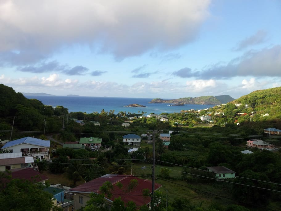 Amazing view and ocean sound Bequia