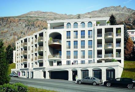 Feine Wohnung No. 4 im Il Piz - Pontresina - Apartment