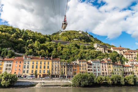Superbe Loft Proche Gare et Centre Grenoble - Grenoble - Loft