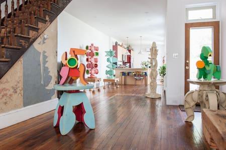 Arts Corridor in Fishtown Epicenter - Philadelphia