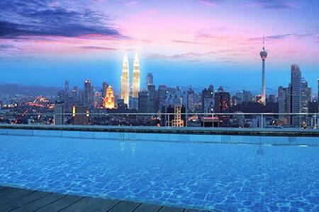 Rooftop Infinity Pool+ KL View #9