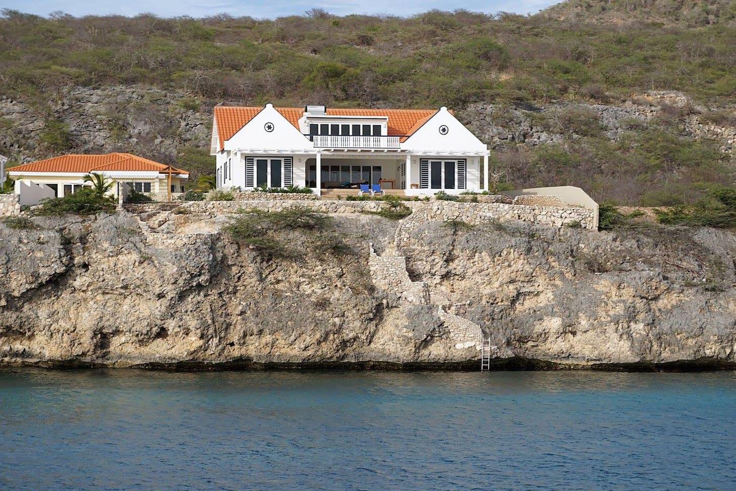 Villa bon bientu appartments   villa's te huur in lagun: curacao ...