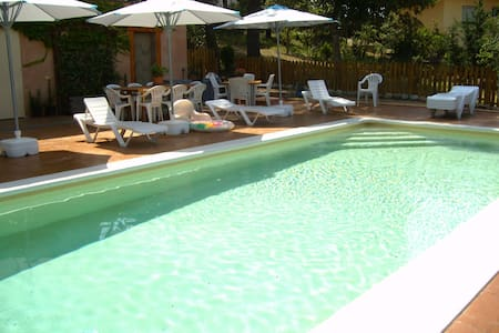 Villa for 7 guests with saline pool - Casa de camp