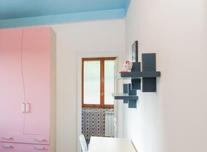 Pink ensuite center single room - Roma - Apartment