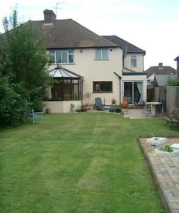 Large family home, green belt area - House