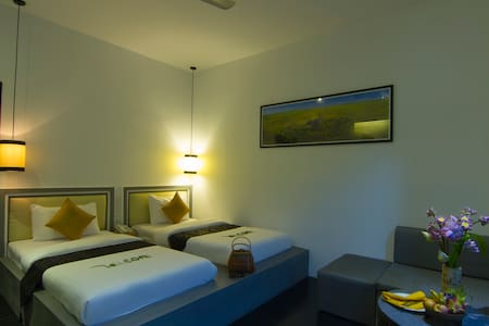 Deluxe Twin Room with Balcony - Bed & Breakfast