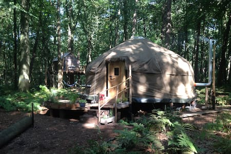 Forest Yurt near Bruges - Jurta