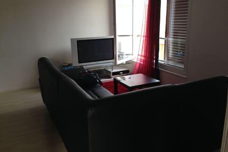 F2 meublé avec terrasse 15m2 - Bonneuil-sur-Marne - Apartment