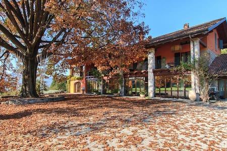 Beautiful villa in huge grounds, walk to the lake - Ispra - Villa
