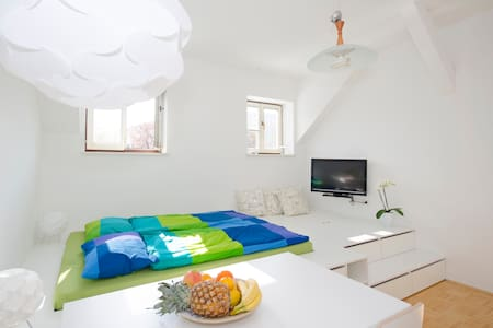 Lovely apartment in the center +P - Ljubljana - Apartment