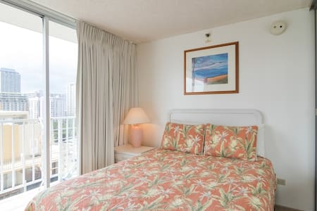 Rooftop Pool and Ocean View Studio - Honolulu - Appartement