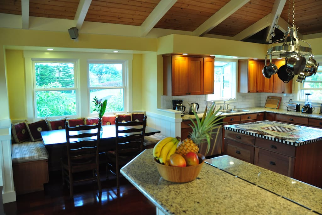 4BR House on Kaua'is North Shore