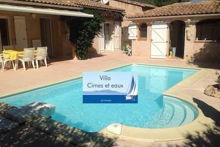 """Villa """"Cimes et eaux"""" Sainte Lucie - House"""