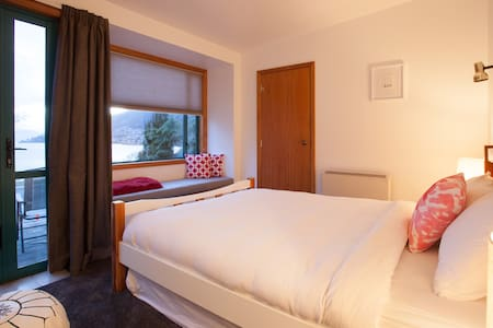 Cosy Lake View Unit - Queenstown - Apartment