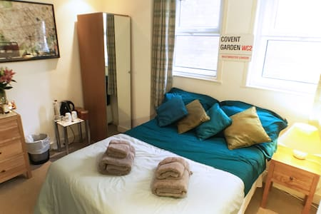 Covent Gdn Bed and Private Bathroom - London - Townhouse