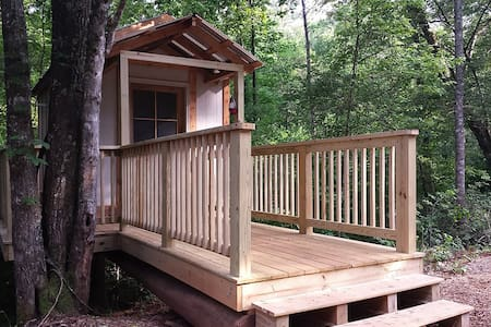 Room type: Entire home/apt Property type: Treehouse Accommodates: 3 Bedrooms: 1 Bathrooms: 1