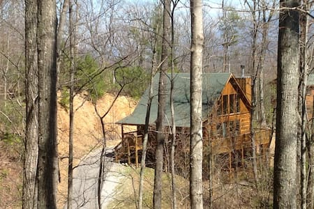 Close to everything, secluded cabin - Gatlinburg
