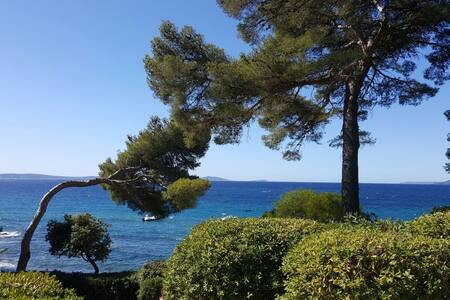 Studio acces direct a la plage - Rayol-Canadel-sur-Mer