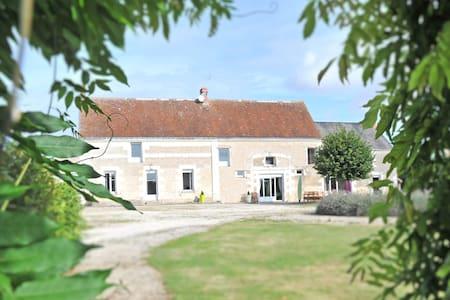 Grande propriété piscine Touraine - Chambourg-sur-Indre - House