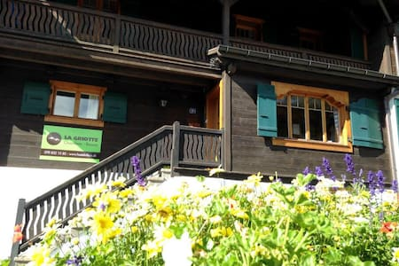 La Griotte, Mountain Chalet -Room 5 - Bed & Breakfast