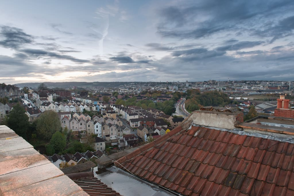 bristol from your roof terrace