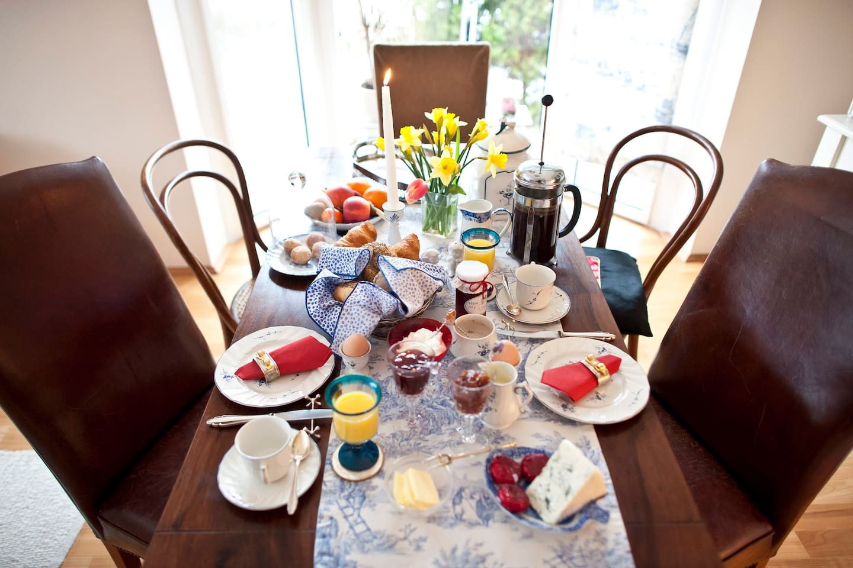 Frühstücksraum / Breakfast-Room