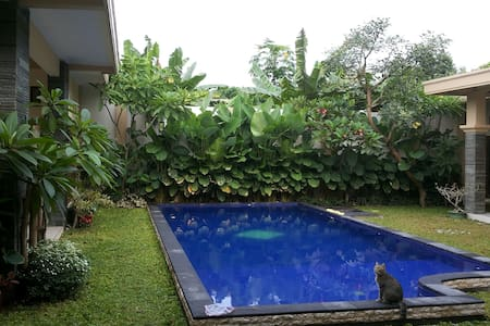Villa Sanggrahan is a quality accommodation, conceived in the Javano-Balinese style.   It is a comfortable and welcoming place and it has been tailored to you needs during your stay in Yogyakarta. It is a haven of peace.