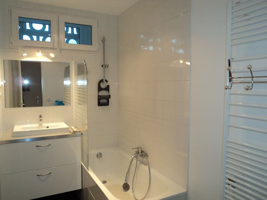 Appartement morizet 78m boulogne appartements louer for Seche linge salle de bain