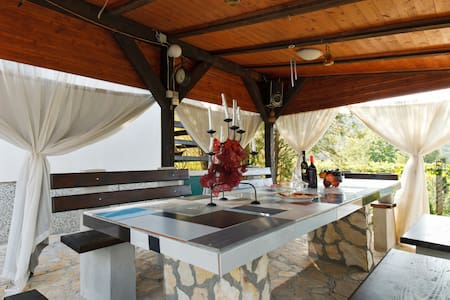 Amazing Cottage with Eco Pool near Krka Falls - Haus