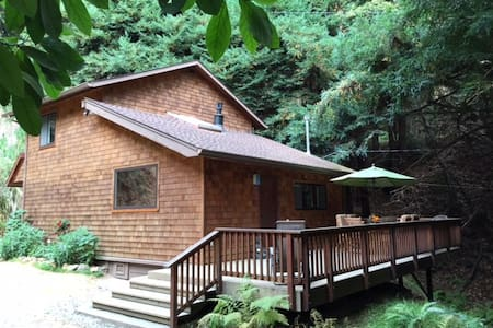 Big Sur-ene Retreat with Hot Tub!