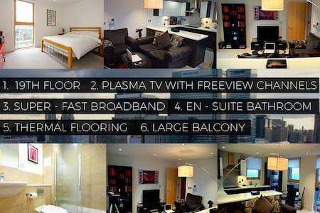 Top floor Canary Wharf En-Suite