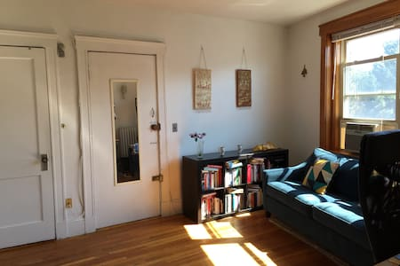 Well-lit 1-bedroom by Harvard, MIT - Cambridge