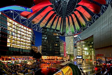 Skyview Apartment im Sony Center