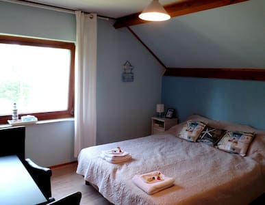 B&B De Pauw: Sea and beach room - Szoba reggelivel