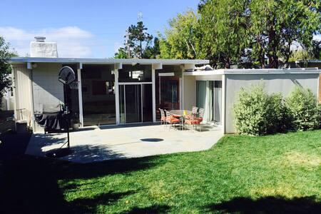 San Mateo Eichler with Great Yard