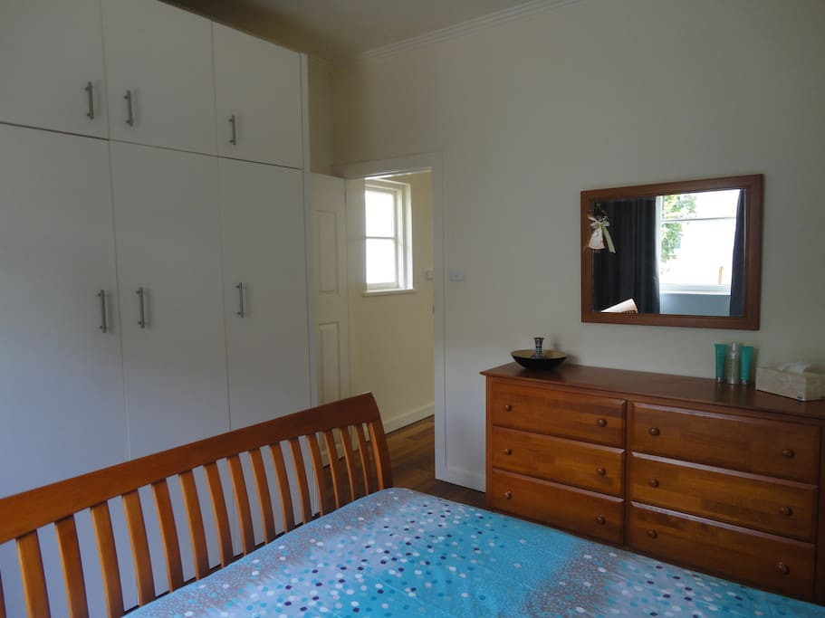Plenty of storage in the bedroom and throughout the unit