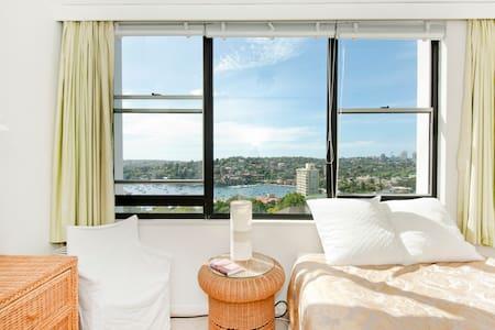 Wake up on superb Sydney Harbour!