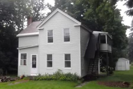 Convenient (minutes to UVM, downtown Winooski, and I-89) and quiet, my 1850s farmhouse sits on a leafy cul-de-sac and feels like a bit of the country in the city. Enjoy spacious rooms with wood floors, an eat-in kitchen, and tea by the wood stove.