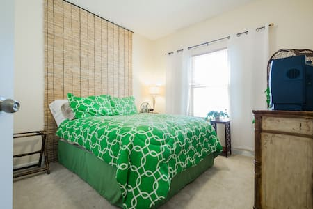 Guest room with relaxing decor - Cincinnati - Maison