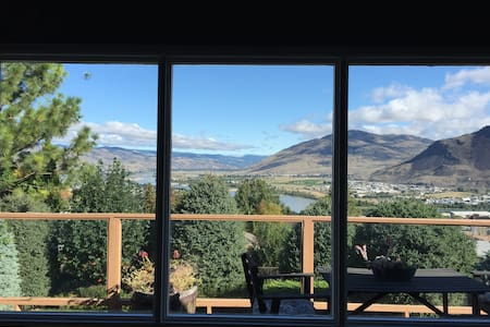 We own a quaint, comfortable home, conveniently located between the hospital and university in Kamloops, BC. Our home boasts stunning views of the city and is walking distance to downtown, bus routes and shops. We look forward to meeting you!