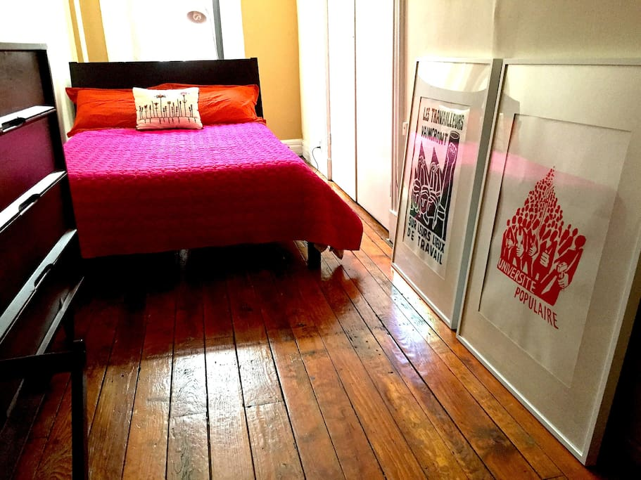 This is another set of bedding, and a couple new posters.