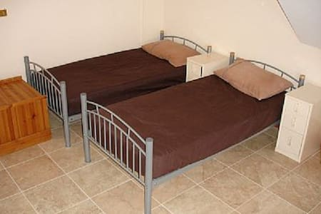 Bed in ground floor dormitory - Bewdley