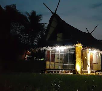 Saung Bale Bale. A Farmer House - House