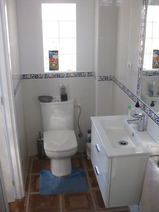 The double bedroom with bathroom en-suite