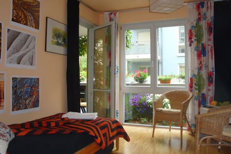 Cosy room, 2 comfortable single beds in MunichWest - Apartment