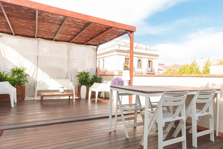 LUXURY PENTHOUSE WITH PRIV. TERRACE - Barcelona